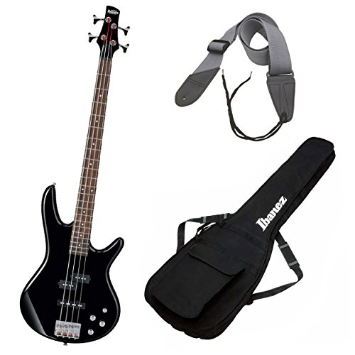 Ibanez GSR200 GIO Electric Bass Guitar Plus Free Ibanez Gig Bag and Guitar Strap