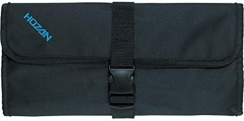 ホーザン(HOZAN) ツールケース ツールバッグ ロールアップ式 ストッパー付 収納ポケット数17ヶ所 B-98