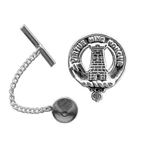MacLean Scottish Clan Crest Tie Tack/ Lapel Pin by Celtic Studio