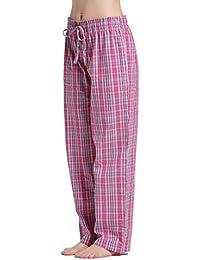 cyz Mujer 100% algodón tela Dormir Pajama Pants