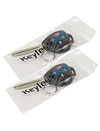 2 keyless2go Nueva Keyless Entry Remote coche clave para Toyota Corolla Venza Avalon gq4   29T con chip de G