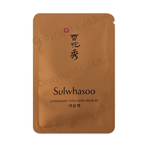 Sulwhasoo NEW Overnight Vitalizing Mask EX 4ml x 20PCS
