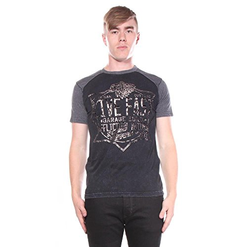 Affliction Metal para Works hombre Camisetas Speed xZqFwfU