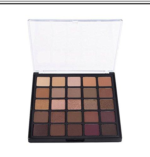 Molyveva Cosmetic Shimmer Matte Eyeshadow Cream Makeup Palette Set 25 Color