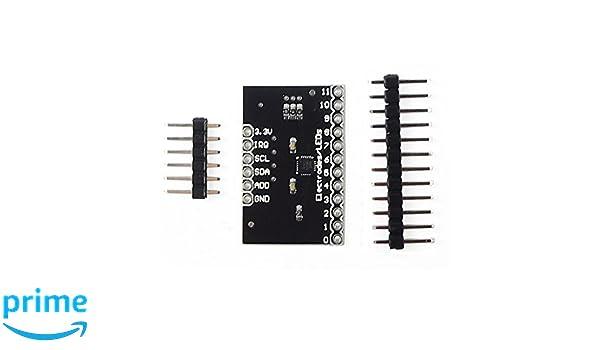 Módulo MPR121 Sensor Capacitivo Tactil de Proximidad Contacto I2C Breakout V12: Amazon.es: Electrónica