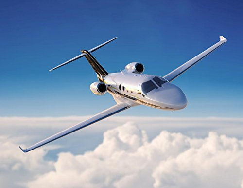 (Quality Prints - Laminated 31x24 Vibrant Durable Photo Poster - Cessna Launches New Light Business Jet Citation M2 Aerospace)
