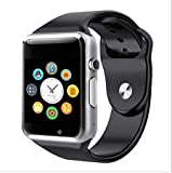 BRITTON Bluetooth Smartwatch with Sim and Memory Card Support, Sleep Monitor for Android and iOS Smartphones (BR-SMT-09)