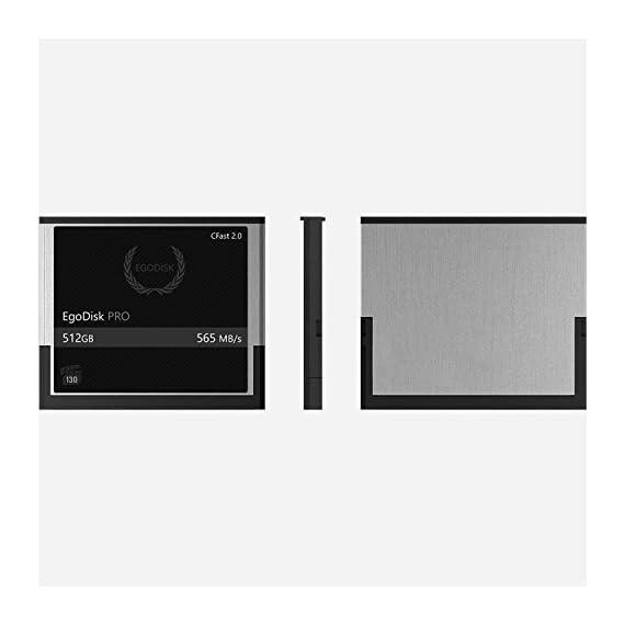 Egodisk pro 512gb cfast 2. 0 card - (blackmagic ursa mini | bmpcc pocket | 4k • 4. 6k • 6k | canon • xc10 • xc15 • 1dx markii • c200 • c300 | hasselblad h6d-50c • h6d-100c) - 3 year warranty 3 egodisk. Com 3 year usa limited warranty global shipping video performance guarantee-230 ( vpg-230 ) 512gb cfast 2. 0 vpg230 speed: 565mb/s 3 year warranty