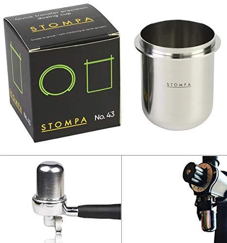 Stompa No.43 Dosing Cup – Grinder to Group – Suits Mahlkonig EK Series Grinders For Sale