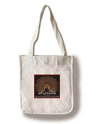 - Splendor Brand - San Fernando, California - Citrus Crate Label (100% Cotton Tote Bag - Reusable)