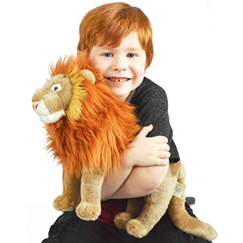 VIAHART Leif The Lion | 16 Inch (Tail Measurement not Included!) Stuffed Animal Plush | by Tiger Tale Toys