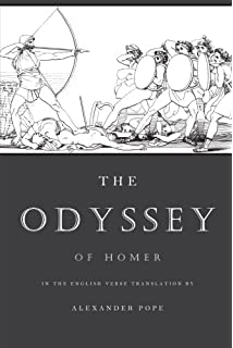 Image result for The Odyssey of Homer / in the English verse translation by Alexander Pope