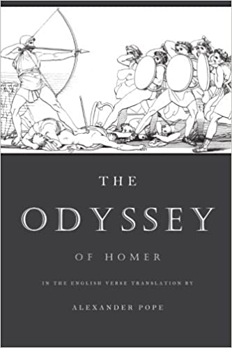 The Odyssey: The Verse Translation by Alexander Pope (Illustrated ...