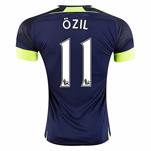 37bd36651 2016 2017 Arsenal 11 Mesut Ozil The Third Away Football Soccer Jersey In  Navy For New