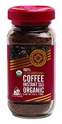 Giraldo Farms 100% Organic Colombian Coffee Instant Freeze-dried 3.52oz.
