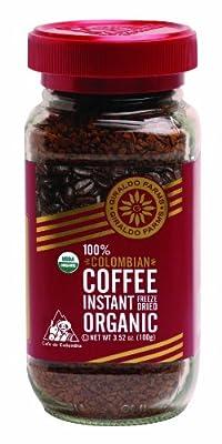 Giraldo Farms 100% Organic Colombian Coffee Instant Freeze-dried 3.52oz.