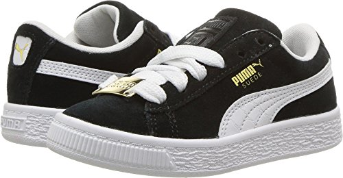 PUMA Kids Boy's Suede Classic Bboy Fabulous (Little Kid) Black White 13.5 M US Little Kid by PUMA