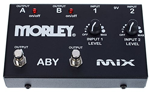 Morley ABY Mixer/Combiner (Aby Guitar Pedal)