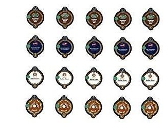 20 Count - Variety Decaf Coffee Vue Cups for Keurig Vue Brewers (4 flavors, 5 vue cups each)