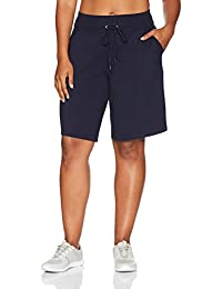 Danskin womens plus-size Plus Size Essential Bermuda Short
