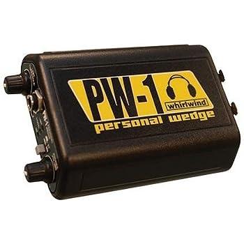Amazon Com Whirlwind Pw 1 Personal Wedge Headphone Driver