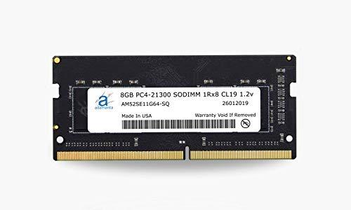Adamanta 8GB (1x8GB) Laptop Memory Upgrade DDR4 2666Mhz PC4-21300 SODIMM 1Rx8 CL19 1.2v Notebook RAM DRAM