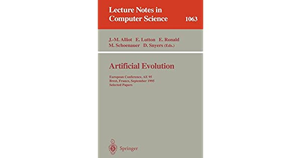 Artificial Evolution: European Conference, AE 95 Brest, France, September 4–6, 1995 Selected Papers