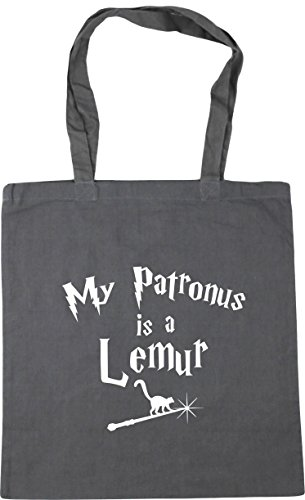 Tote Graphite Lemur 42cm 10 litres Bag My HippoWarehouse Patronus Grey x38cm Gym Is A Shopping Beach q6XBXpT