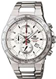 Casio Stainless Steel Edifice Chronograph White Dial