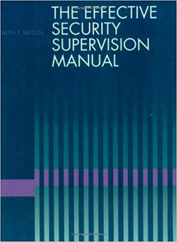 Amazon the effective security supervision manual ebook ralph the effective security supervision manual 1st edition kindle edition fandeluxe Image collections