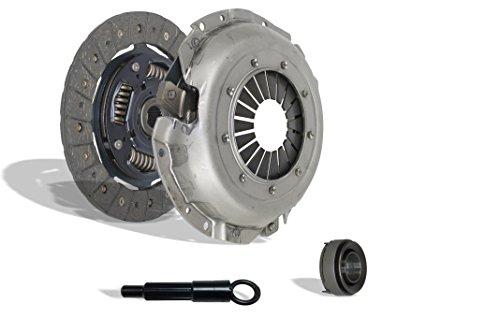 (Clutch Kit Set Works With Honda Accord Base Hatchback Lx 3-Door Base Sedan 4-Door 1982 1.8L l4 GAS SOHC Naturally Aspirated (Premium Clutch Kit Works With Engine: EK1; Flywheel Spec:)
