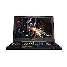 """Gigabyte X5 v8-CL4D AORUS 15"""" 144Hz GTX 1070 16G RAM 1TB HDD Full Light Gaming Laptop, Aluminum Black"""
