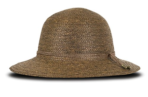 Tilley R12 Women's Broad Brim Raffia Hat - Brown - Small by Tilley