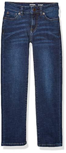 Amazon Essentials Boys' Kids Stretch Straight-fit Jeans