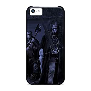 Shockproof Cell-phone Hard Covers For Iphone 5c With Customized Fashion Ensiferum Band Pictures SherriFakhry