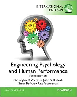 Bildergebnis für wickens engineering psychology and human performance