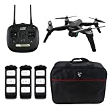 JJRC JJPRO X5 EPIK RC Drone with 5G WiFi 1080P Camera GPS Positioning Follow Me Altitude Hold Brushless Motor Quadcopter with 3 Battery Suitcase Handbag
