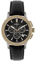 Rotary GS02757-04 Mens Black Chronograph Watch