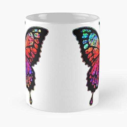 Groovy Stylised Style Tattoo - Coffee Mugs Best Gift Unique Ceramic Novelty Cup from Quickmangoes
