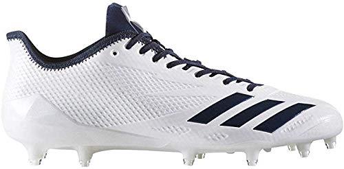 adidas New Adizero 5-Star 6.0 Cleat Men's 11.5 Football White/Navy