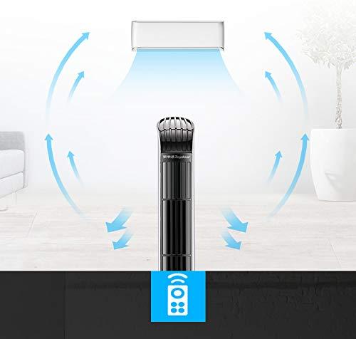 Ventilador de columna ventilador ventilador de torre silencioso ventilador de pie potente motor blanco