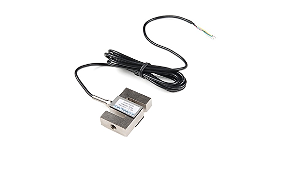 Portable Weighing Sensor for Load Cell 0-2000KG Metal S-Type IP67 Weighing Sensor with Cable for Testing Electronic Weighing Devices 300kg