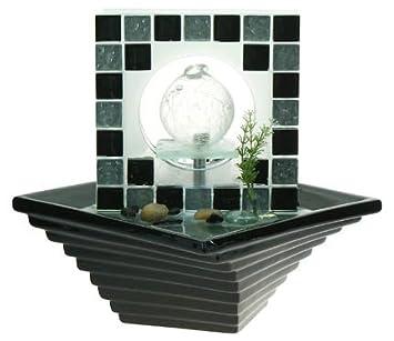 Fontaine à Eau Dinterieur Avec Boule En Verre Amazonfr Cuisine - Fontaine a eau d interieur