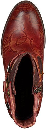 Laura Vita SL00324-06 Damen Stiefelette Rot(Wine)