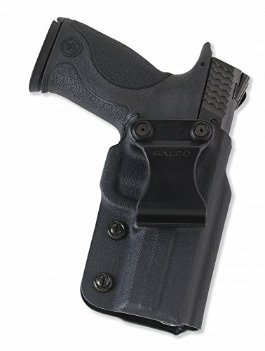 Galco Triton Kydex IWB Holster for S&W M&P 9/40 (Black, Right-hand)