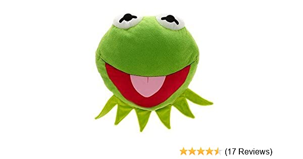 MUPPETS KERMIT the FROG LARGE PLUSH PILLOW Cushion Frog
