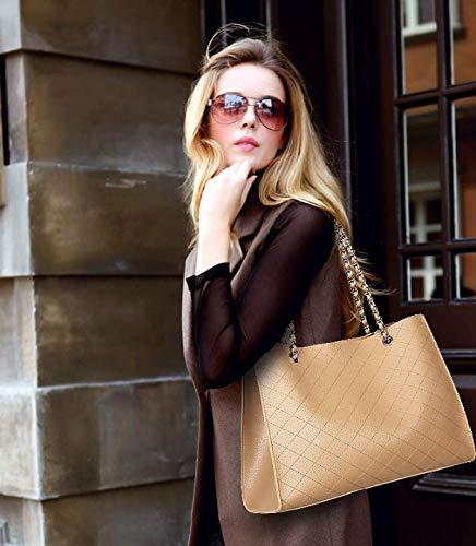Neue Damen-Tasche Damen-Tasche Damen-Tasche Grenzüberschreitende Neue Damen-Tasche Europäische Und Amerikanische Modekette Einzelne Umhängetasche Linger Hand Mutter Und Kind Eine Lieferungaprikose Schultertaschen B07QDCMX8N Schultertaschen eine große Vielfalt von Wa 136395