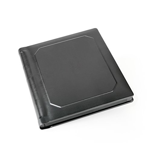 Professional Slip-in Albums by Tuscany Albums (8x10 (5 Page), Black/Black)