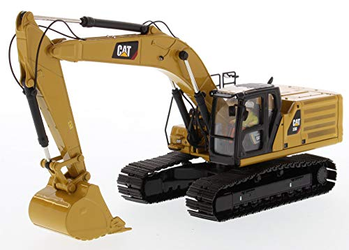 Diecast Masters CAT Caterpillar 336 Next Generation Hydraulic Excavator and Operator High Line Series 1/50 Diecast Model 85586 (Diecast Excavator Model)