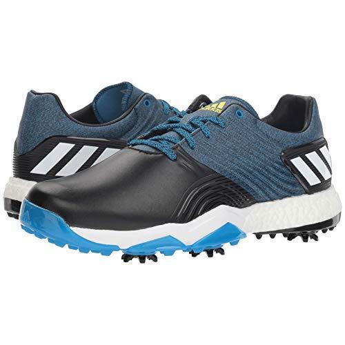 adidas Men's Adipower 4ORGED Golf Shoe, Bright Blue/core Black/Shock Yellow, 10 M US (Best Discount Golf Equipment Websites)